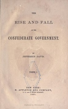 The Rise and Fall of the Confederate Government, v1.djvu
