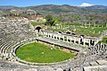 The Roman theatre, built in the second half of the 1st century BC on the eastern slope of the acropolis, Aphrodisias, Caria, Turkey (18524445015).jpg
