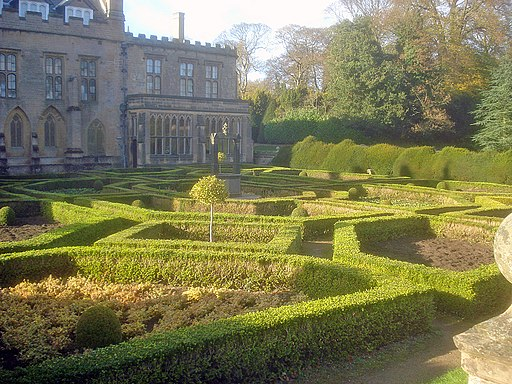 The Spanish Garden at Newstead Abbey (geograph 1663081)