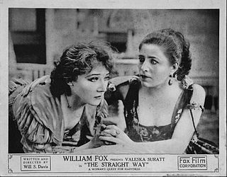 <i>The Straight Way</i> 1916 film by Will S. Davis