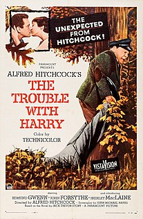 <i>The Trouble with Harry</i> 1955 film by Alfred Hitchcock