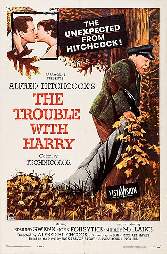 The Trouble with Harry - Original poster