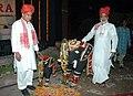 The Union Minister for Rural Development, Dr. Raghuvansh Prasad Singh and the Minister of State for Rural Development, Shri Chandra Sekhar Sahu at the 'SARAS MELA' at Dilli Haat in New Delhi on September 11, 2007.jpg