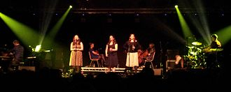 The Unthanks - The Unthanks at Castle Armoury Drill Hall, Bury, Greater Manchester, on 17 October 2015