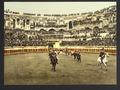 The arena, bull ring, Nîmes, France-LCCN2001698491.tif