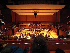 English: The concert hall at the Royal Festiva...