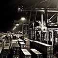The container terminal in Aarhus at night (6955068576).jpg