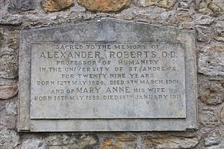Alexander Roberts Scottish biblical scholar