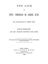 Charles N. Sims: The Life of Rev. Thomas M. Eddy