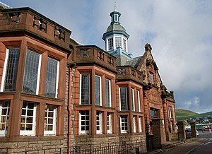 Campbeltown - The old Library and Museum