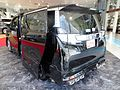 """The rearview of Toyota VELLFIRE V 2WD (AGH30W) with """"TRD Customize Parts"""".JPG"""