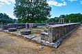 The remains of the Temple of Hera in Olympia on October 14, 2020.jpg