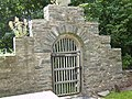The southern lych gate at St Eilian's Church - geograph.org.uk - 1409682.jpg