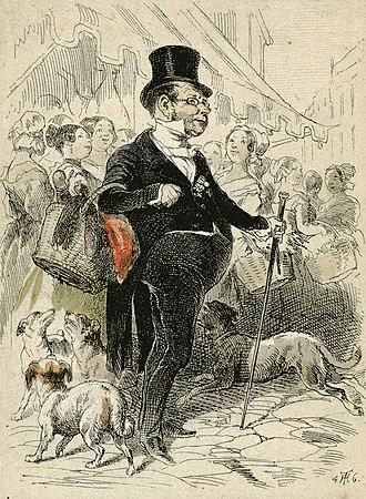 Theodor Hosemann - Image: Theodor Hosemann Lithographie aus Wien wie es ist 1846