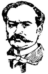 Zeichnung von theodore barrière um 1898
