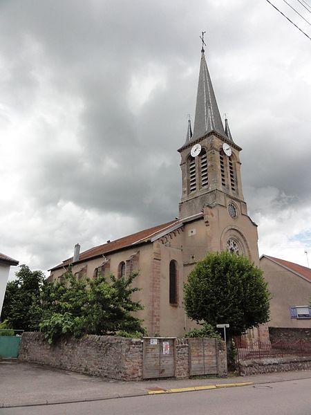 Thiaville-sur-Meurthe (M-et-M) église