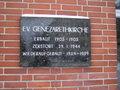 Think of board Genezareth-Church apel.JPG