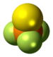 Thiophosphoryl fluoride molecule spacefill.png