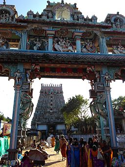 Thirukkadaiyur-temple-gopuram-60th-marriage-1