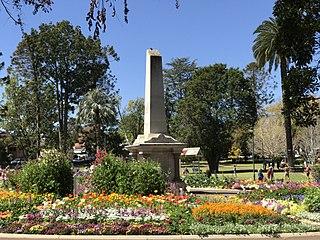 Toowoomba City in Queensland, Australia