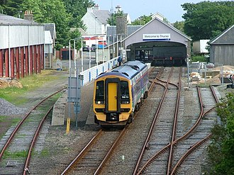 Far North Line - Image: Thurso station geograph.org.uk 1724781