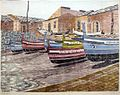 Tidemand-Johannessen - Båter på Sicilia (195X).jpg