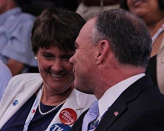 Anne Holton - Holton with her husband at the 2012 Democratic National Convention