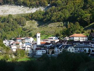 Fraktion der Gemeinde Paluzza, Italien