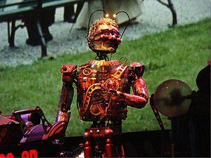 The Timekeeper - The Timekeeper animatronic at Disneyland Paris.