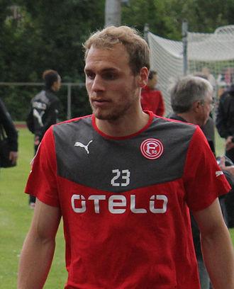 Timo Furuholm - Timo Furuholm during a training match in 2013 in Esens.