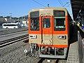 Tobu 8000 series 81107 at Ogawamachi Station.jpg