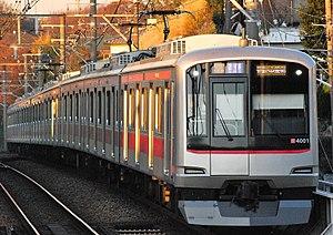 Minatomirai Line - Image: Tokyu 5000kei 4000banai