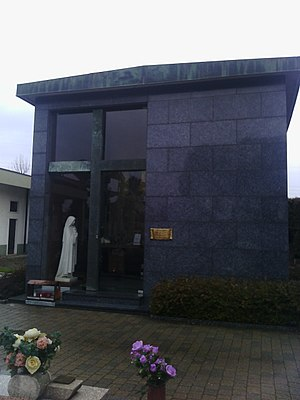Gianna Beretta Molla - The Mausoleum where her tomb is located.