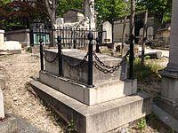 Tombe de Honoré Daumier - Père Lachaise.JPG