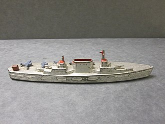 TootsieToy - Tootsietoy ship, similar to early diecast toys made as Monopoly game pieces.