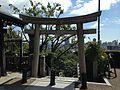 Torii of Kitano Temman Shrine in Kitano-cho, Kobe 2.JPG