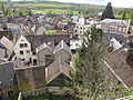 Tour Anquetil-vue par fenêtre ouest-Château-haut, Château-Renard (Loiret).JPG