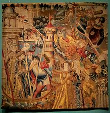 Mus e de la tapisserie et des arts du tissu wikip dia - Comment decoller de la tapisserie ...