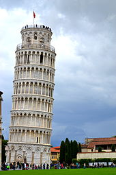 Tower of Pisa and Clouds.JPG