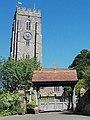 Tower of St. Swithun's, Woodbury, Devon - geograph.org.uk - 1772564.jpg