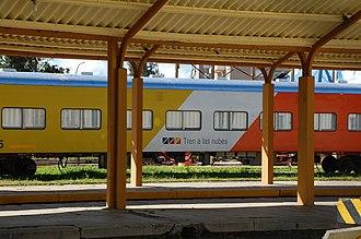 Salta–Antofagasta railway - Image: Train to the clouds in Salta ARGENTINA 002