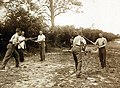 Training of soldiers, bayonet instruction at a British training camp, July 1917 (29766604922).jpg