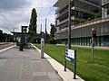 TramStrasbourg lineB lineE Wacken Station.JPG