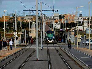 Tramway de Salé