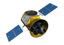 Description de l'image Transiting Exoplanet Survey Satellite artist concept (transparent background).png.