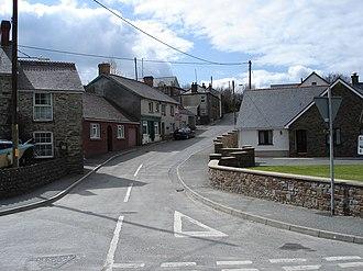 Trelech - Trelech village