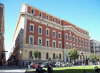 Court of Auditors (Spain) - Image: Tribunal de Cuentas del Reino (Madrid) 01