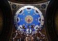 Trieste Tempio serbo-ortodosse della Santissima Trinità e di San Spiridone Innen Cupola 2.jpg