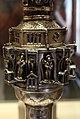 Tripun palma e orefici veneziani, croce processionale in argento, xv sec., poi xviii 03.JPG