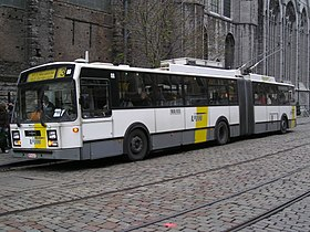 Image illustrative de l'article Trolleybus de Gand